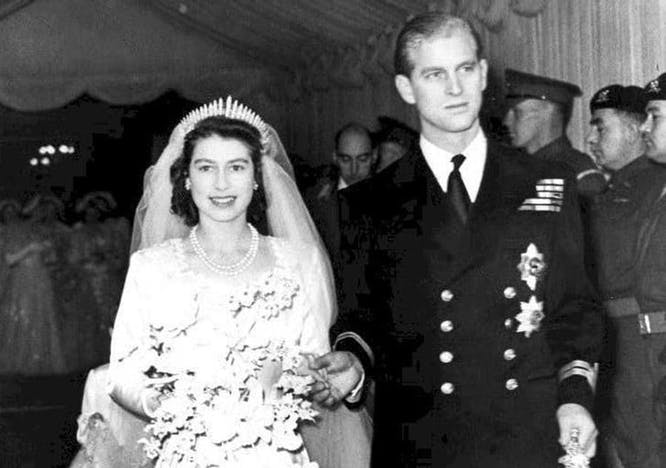 Il Principe Filippo consorte della Regina Elisabetta II