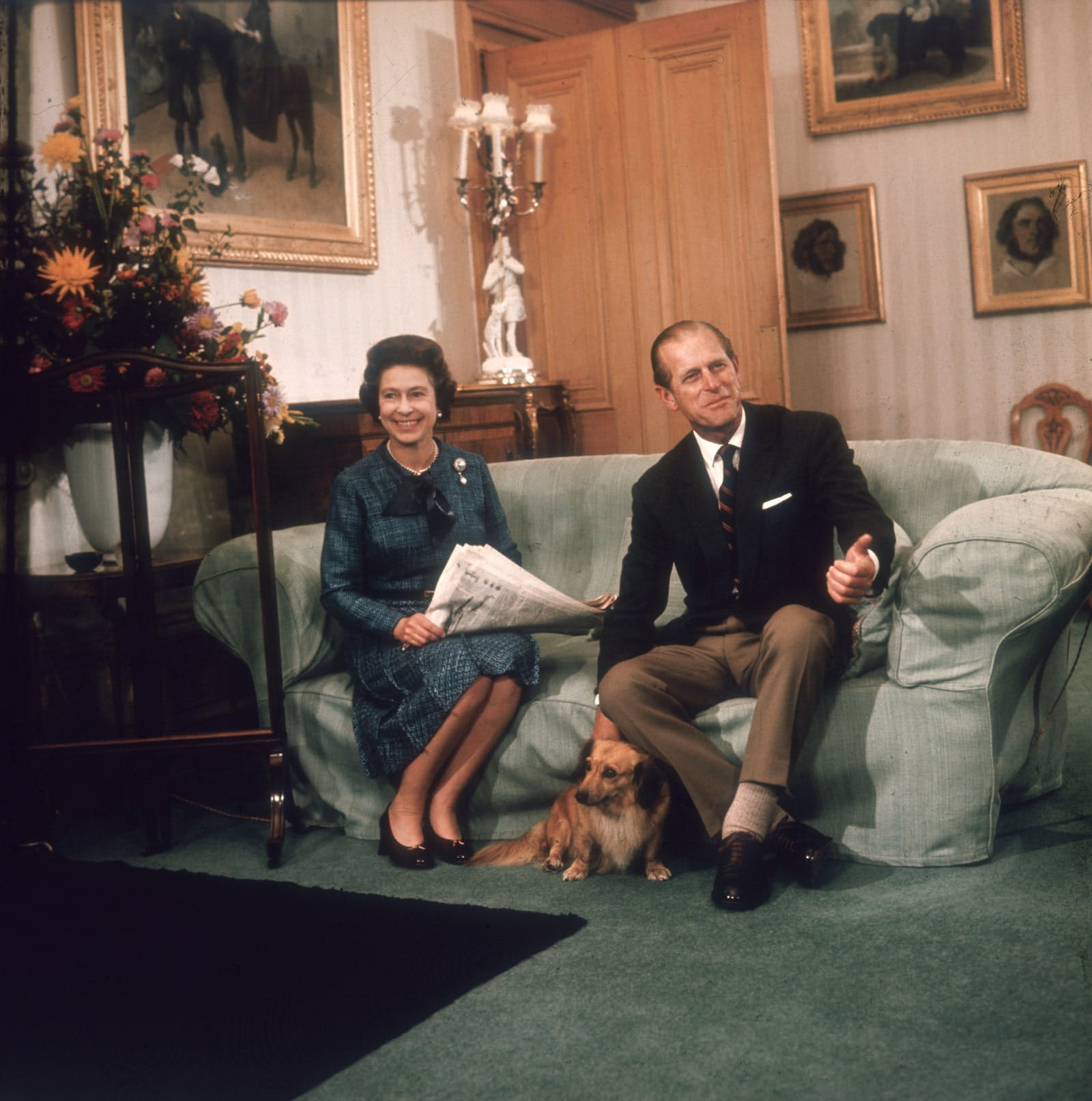 La Regina Elisabetta e il Principe Filippo a Balmoral