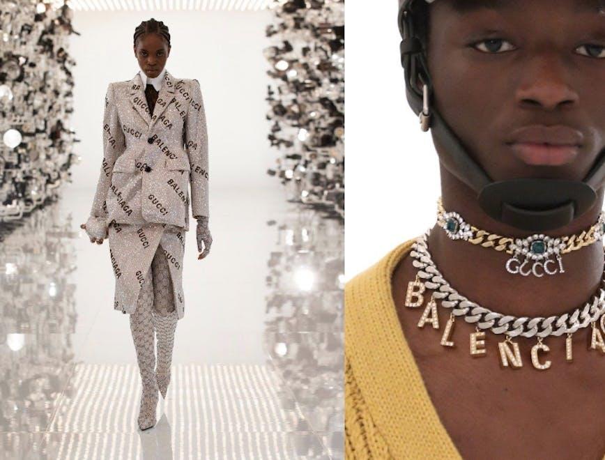 Gucci Aria sfilata e collaborazione con Balenciaga
