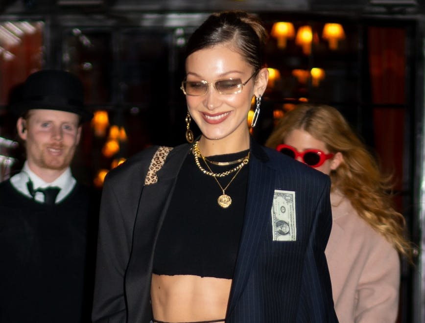 Bella Hadid Tendenza Belly Straps
