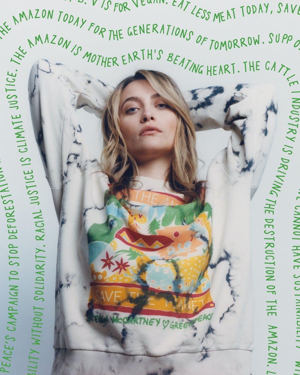 Paris Jackson testimonial della collezione Stella x Greenpeace