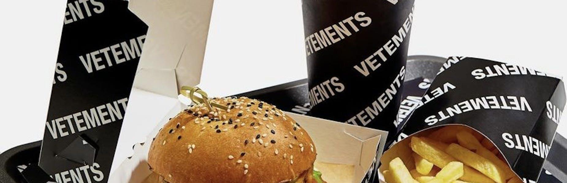 Il nuovo Hamburger firmato Vetements