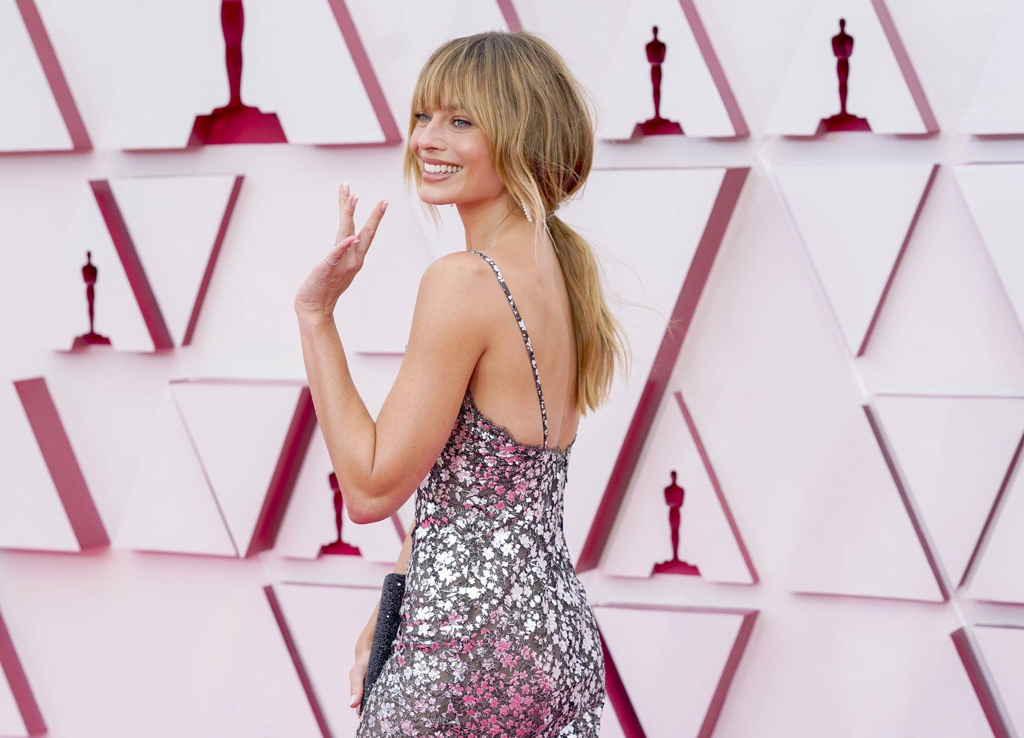 Margot Robbie capelli Oscar 2021