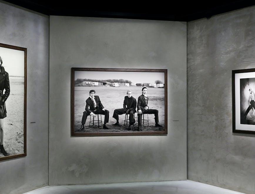 """Foto della mostra """"Heimat. A Sense of Belonging"""" su Peter Lindbergh all'Armani/Silos"""