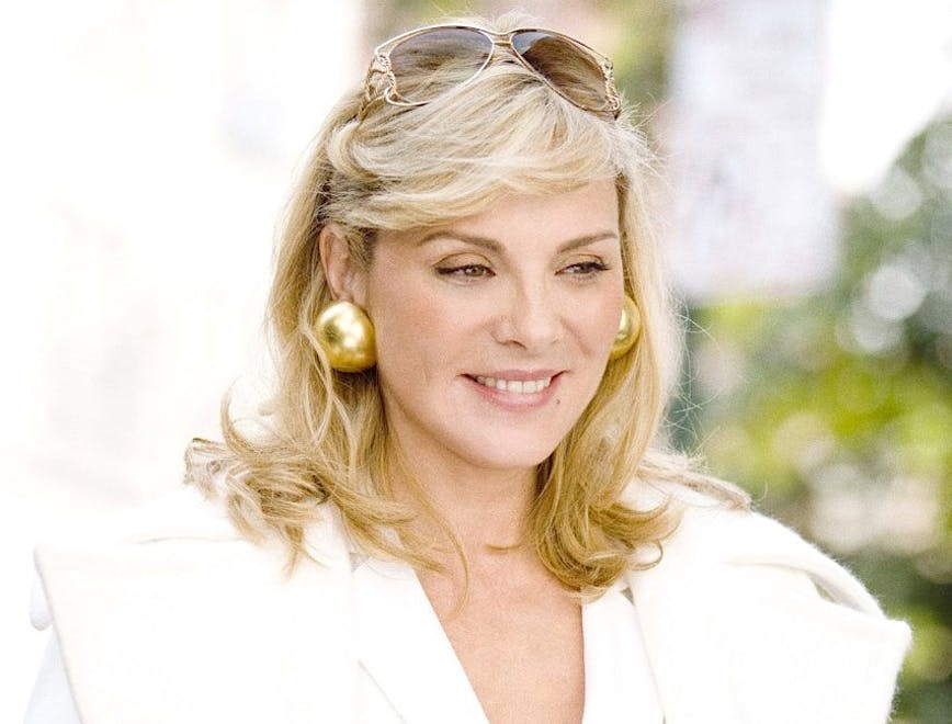 Un ritratto di di Kim Cattrall alias di Samantha Jones di Sex & the City