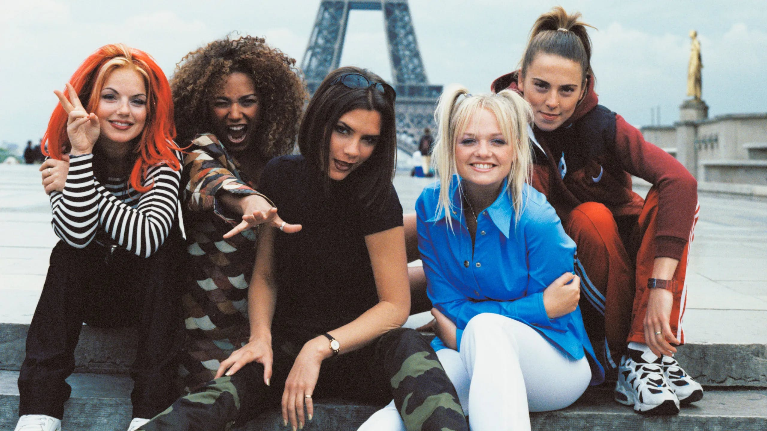 Ritratto della girl band Spice Girls