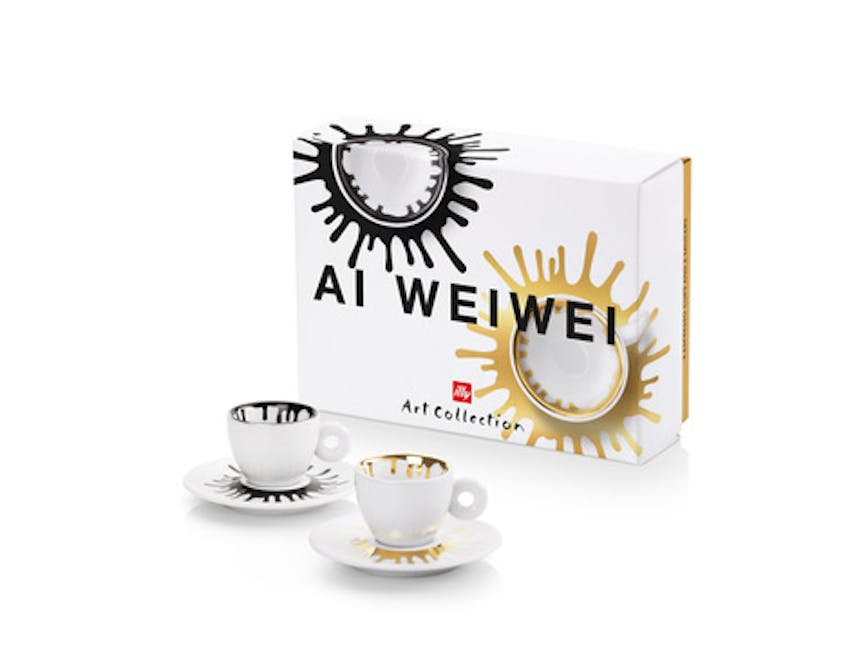Ai Weiwei firma la nuova Illy Art Collection