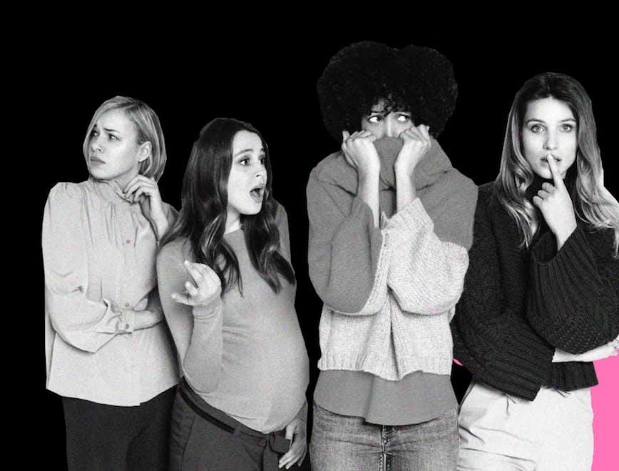 Nella foto alcune donne in gravidanza MOMY l'evento digitale dedicato alla maternità e alla genitorialità moderna