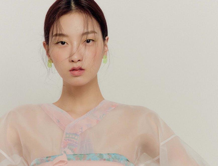 vestito coreano Danha alla Korea Weel 2021