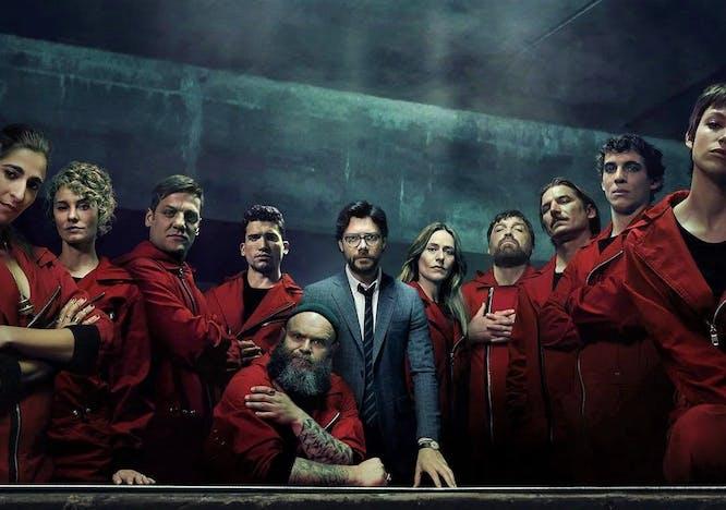 """Il cast della serie tv spagnola """"La Casa di Carta"""""""