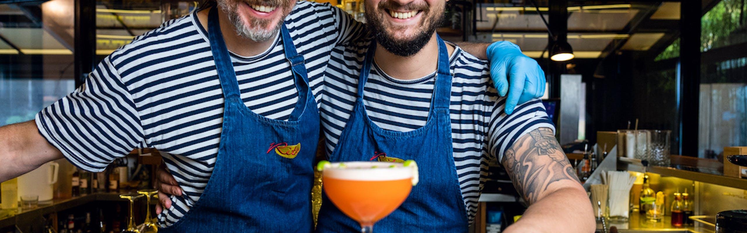 """Nella foto Il """"Carotone"""" di Edoardo Nono, del Rita & Cocktails di Milano per l'anniversario di Babaco"""