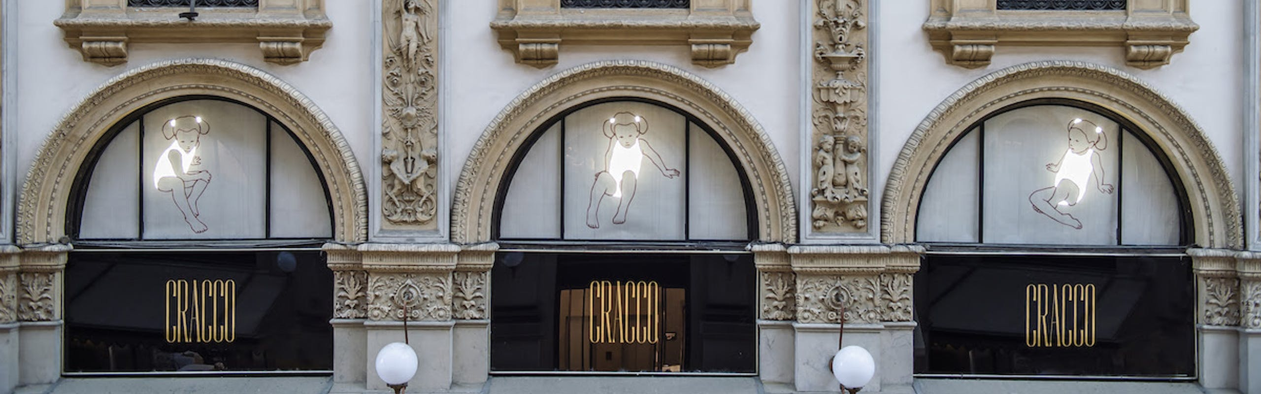 Valerio Berretti accende Galleria Cracco