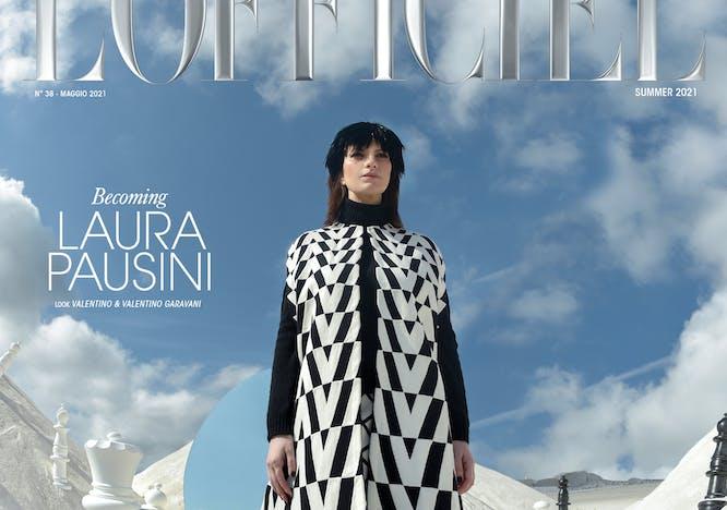 Nella foto La cover di Laura Pausini per L'Officiel Italia Women of Wonder - Issue n°38