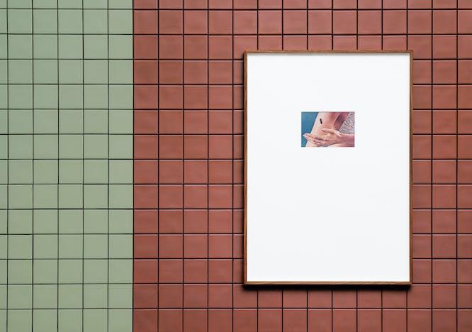 """Nella foto """"Between the Lines"""" la mostra DIN x Luigi Ghirri a Casa Mutina Milano. Foto Delfino Sisto Legnani"""
