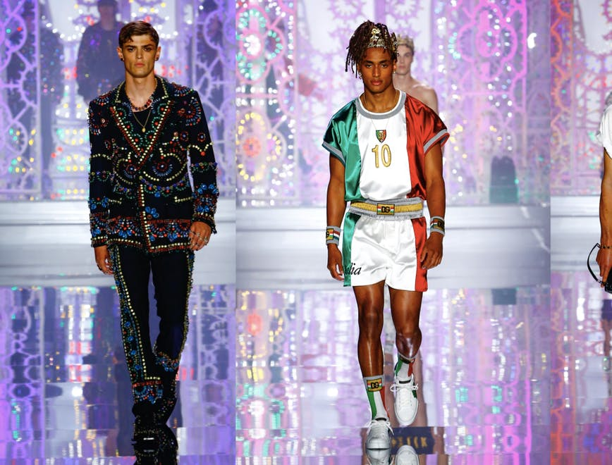 Dolce & Gabbana Uomo Primavera Estate 2022