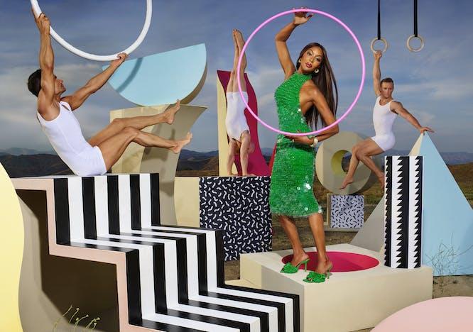 """Nella foto Naomi Capbell scattata da David Lachapelle per Bottega Veneta Digital Journal """"Issue 02"""""""