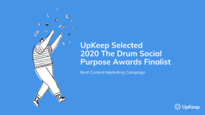 Selected Best Content Marketing Campaign Finalist in 2020 Drum Social Purpose Awards