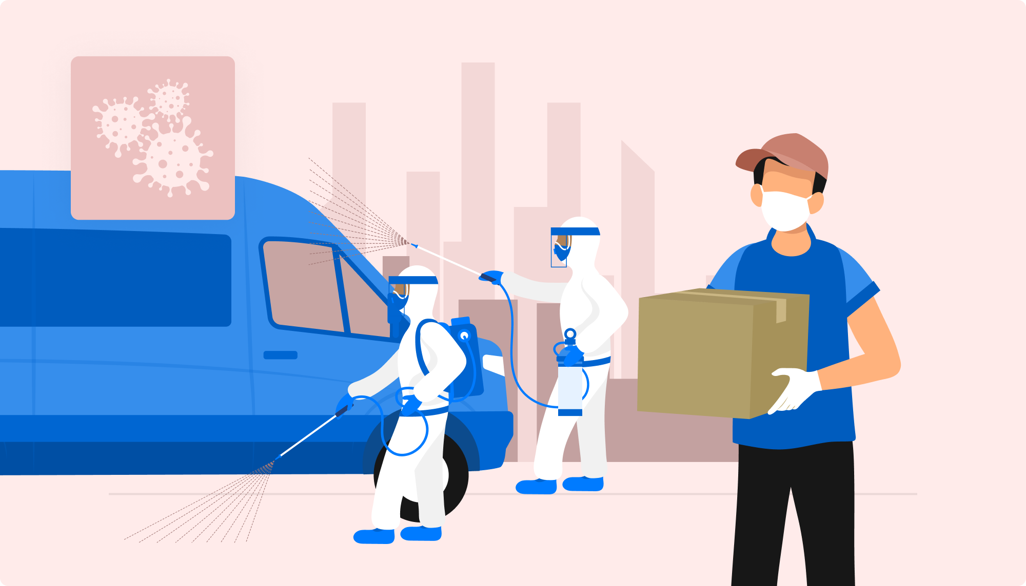 COVID-19 Best Practices for Delivery Services Industry
