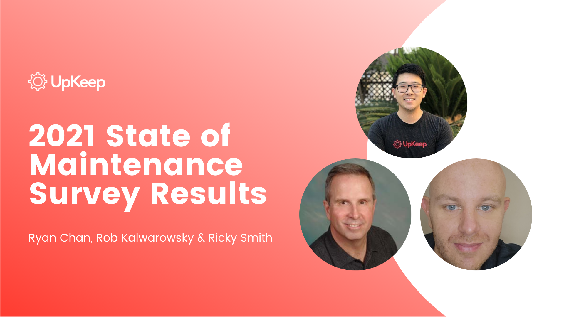 2021 State of Maintenance Survey Results