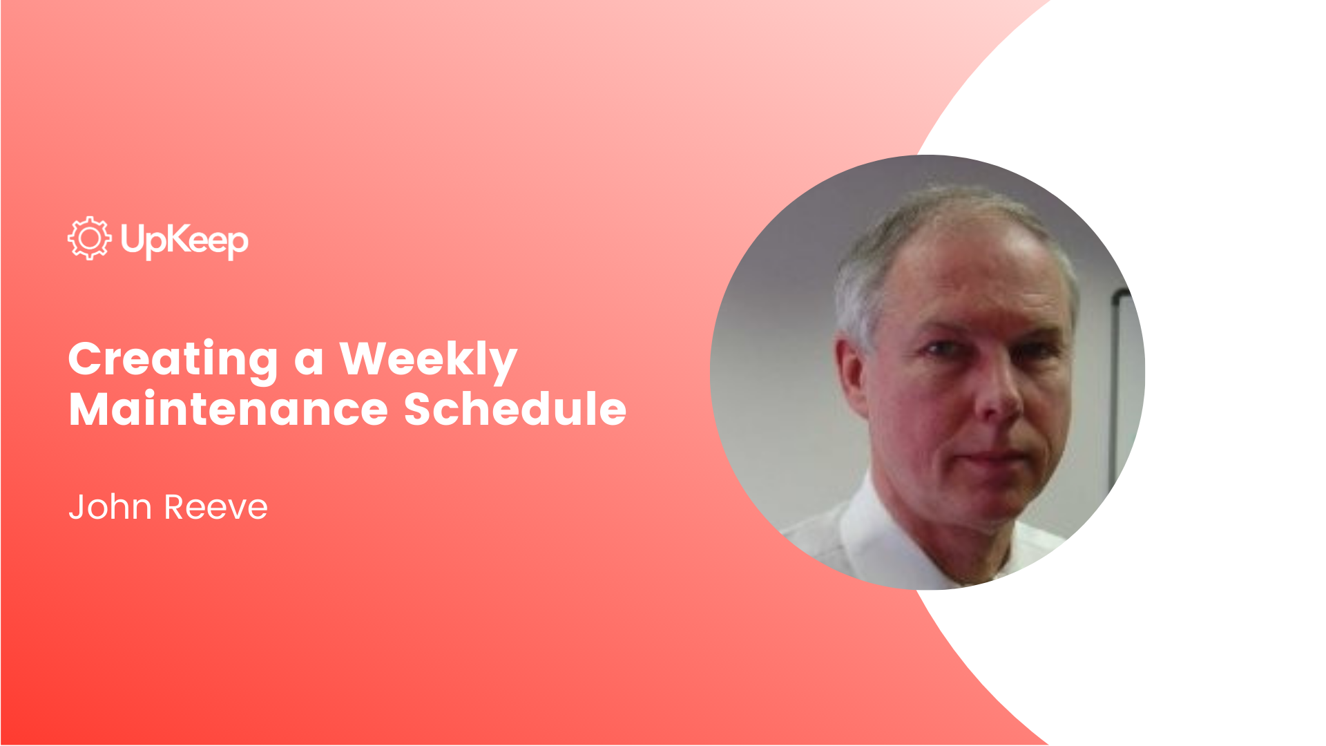 Creating a Weekly Maintenance Schedule