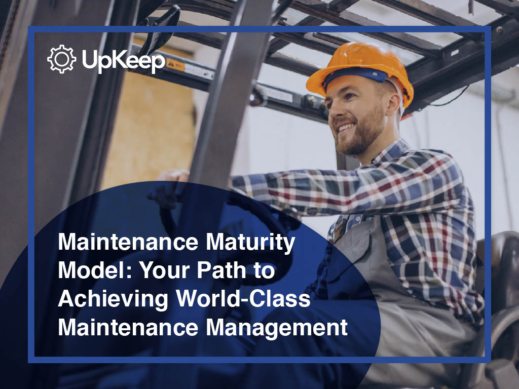 Maintenance Maturity Model Guide Cover Page