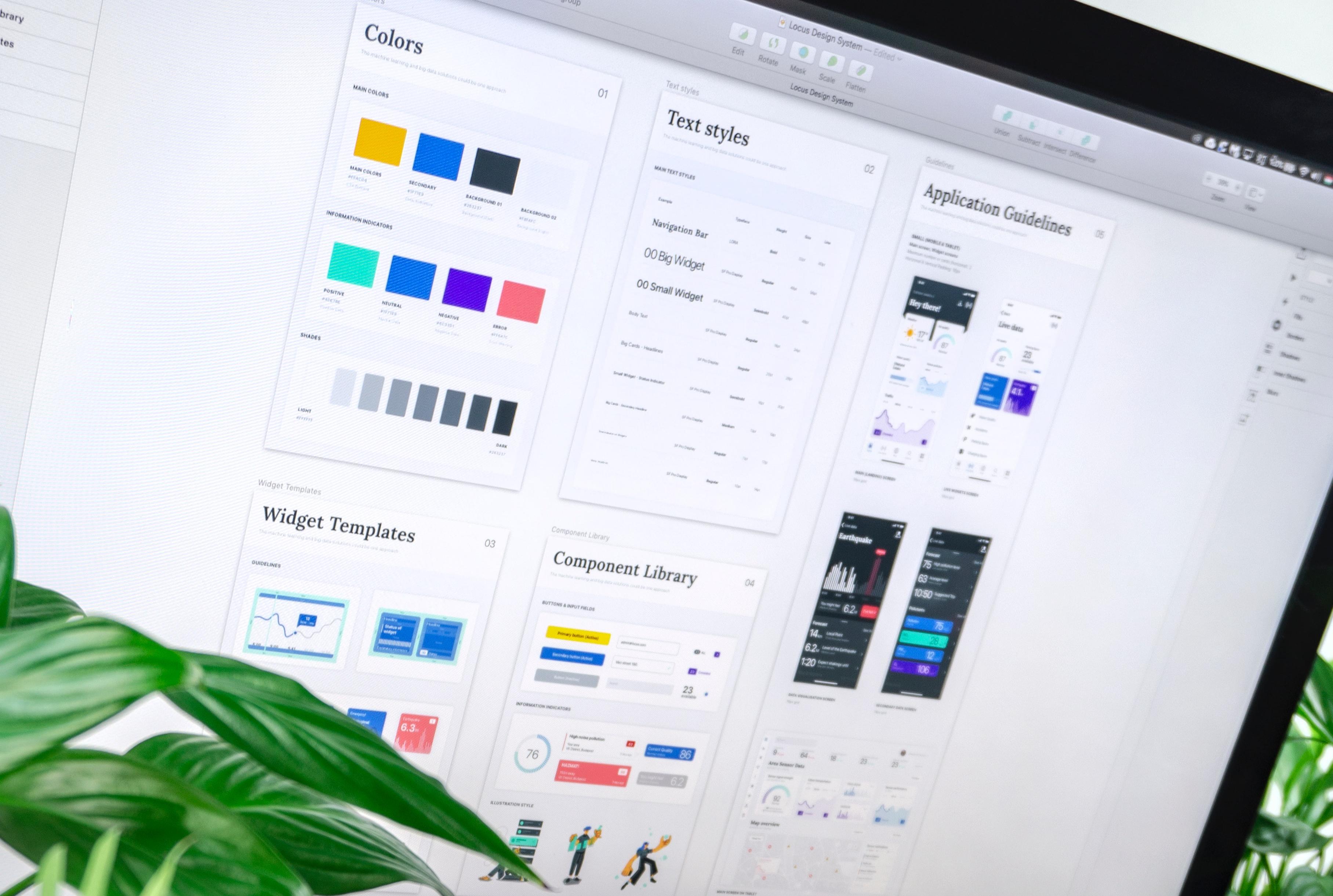 Website Design System