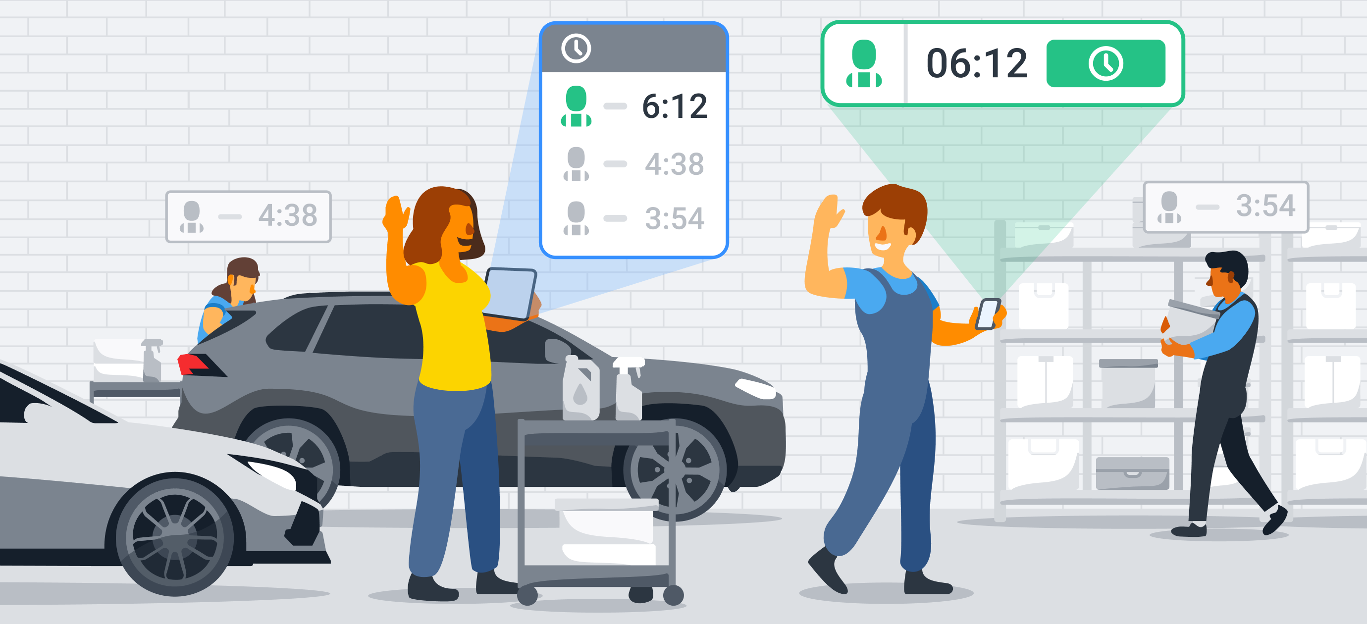 Maximize Your Shop's Efficiency With Shopmonkey Time Clocks