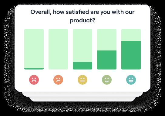 Get regular satisfaction insights