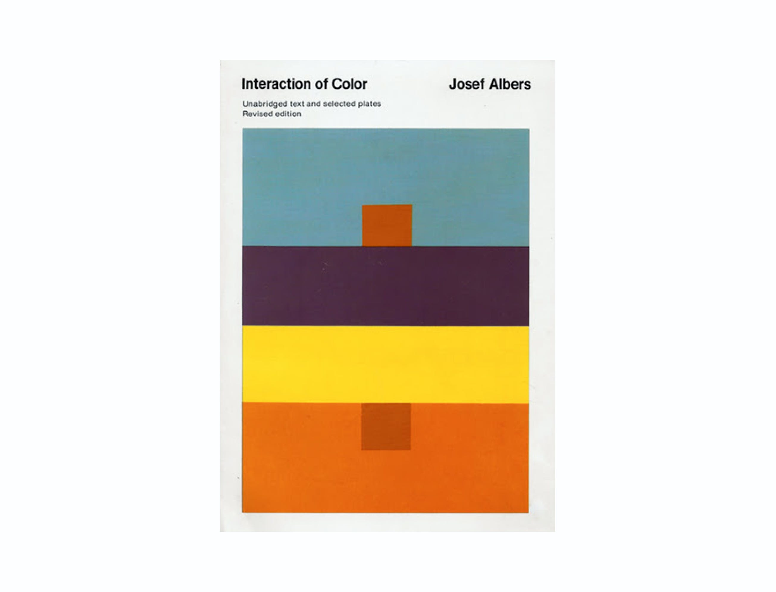 interaction of color book cover