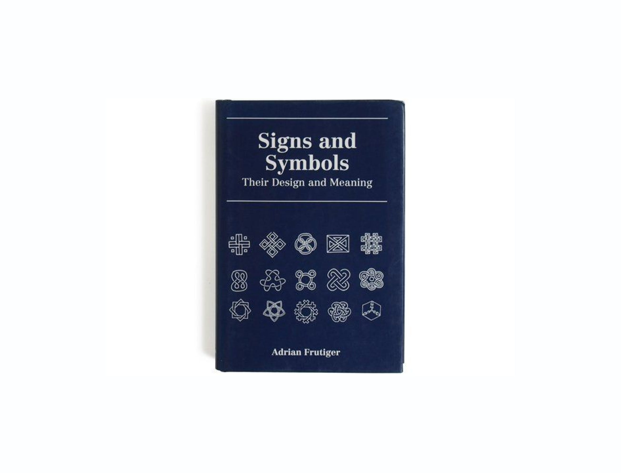 signs and symbols book