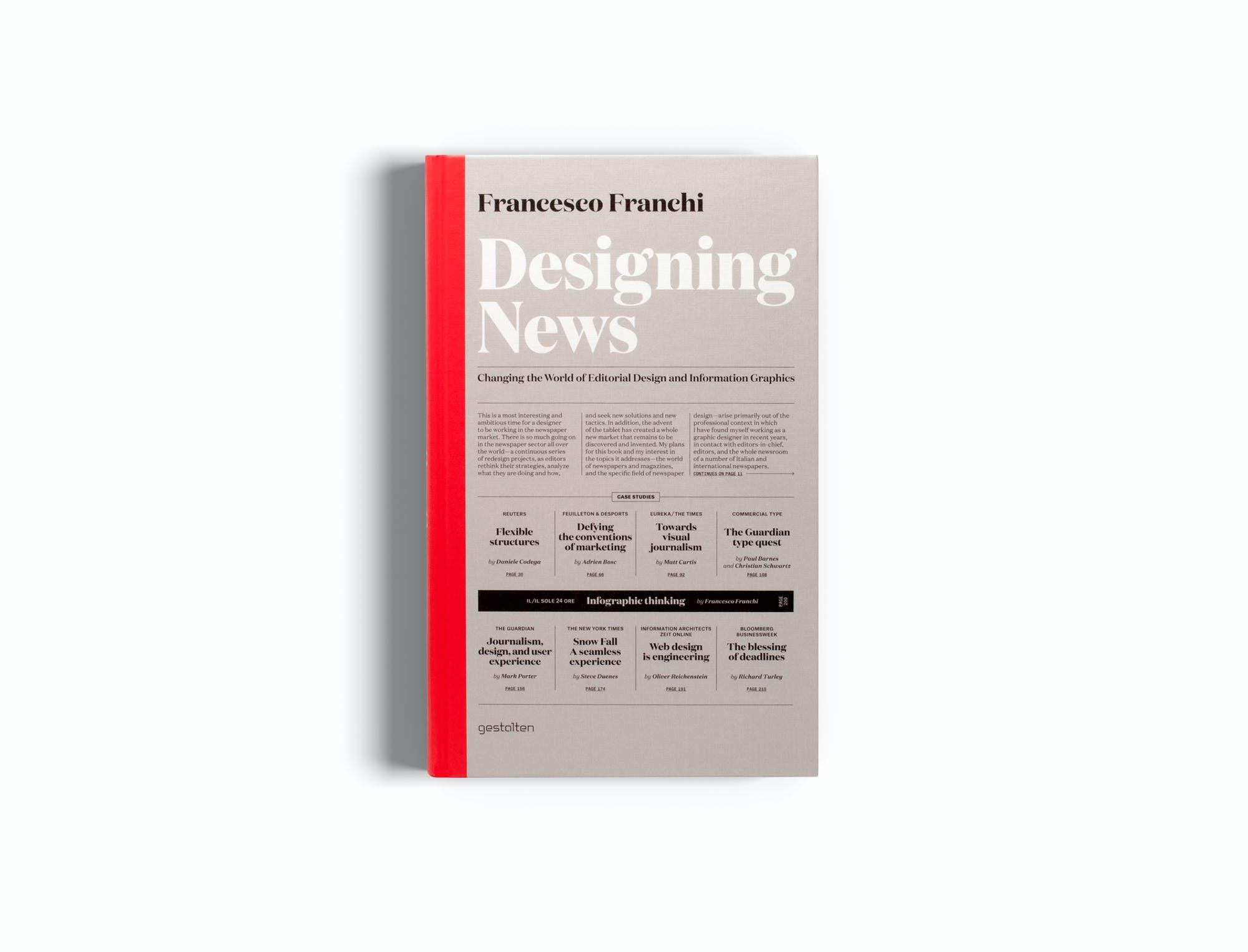 designing news book