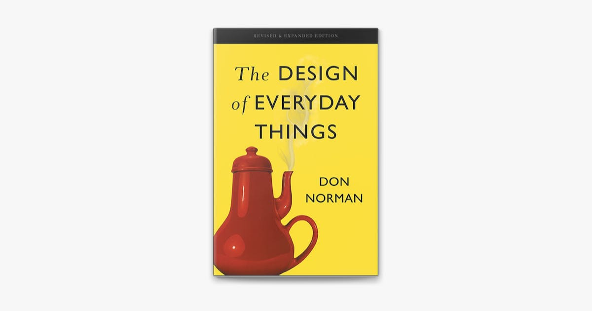 design of everyday things book