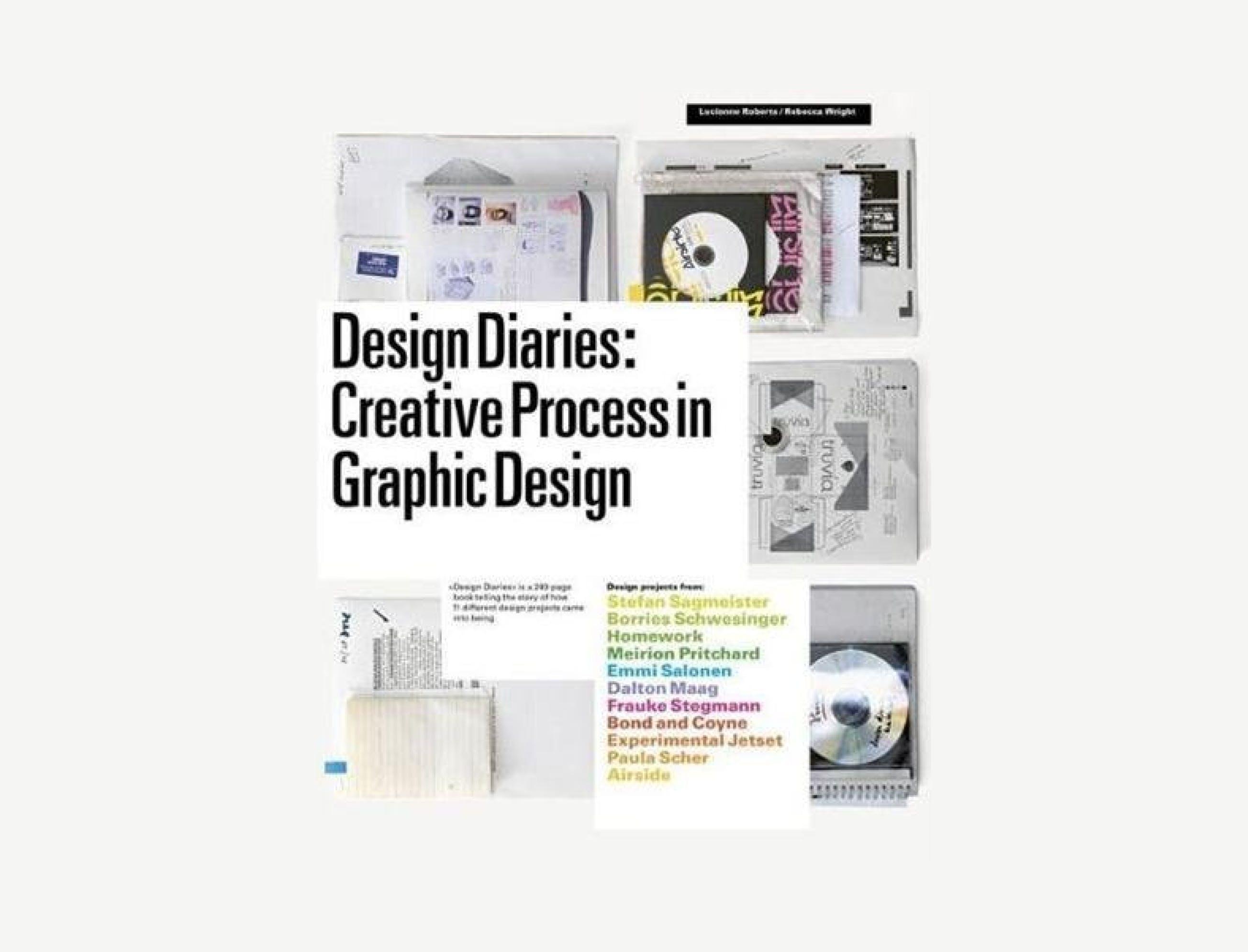 design diaries: creative process in graphic design book
