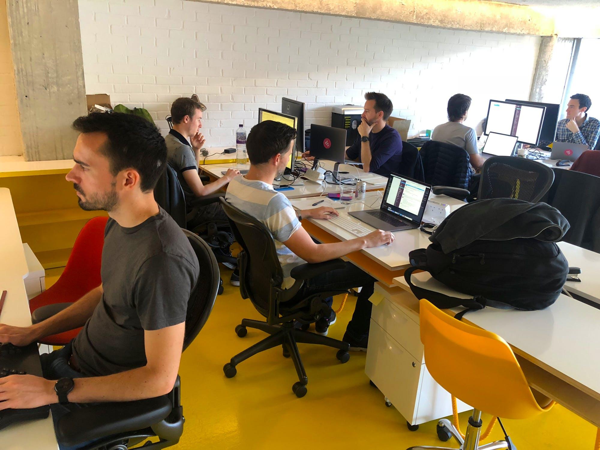 Freetrade team office
