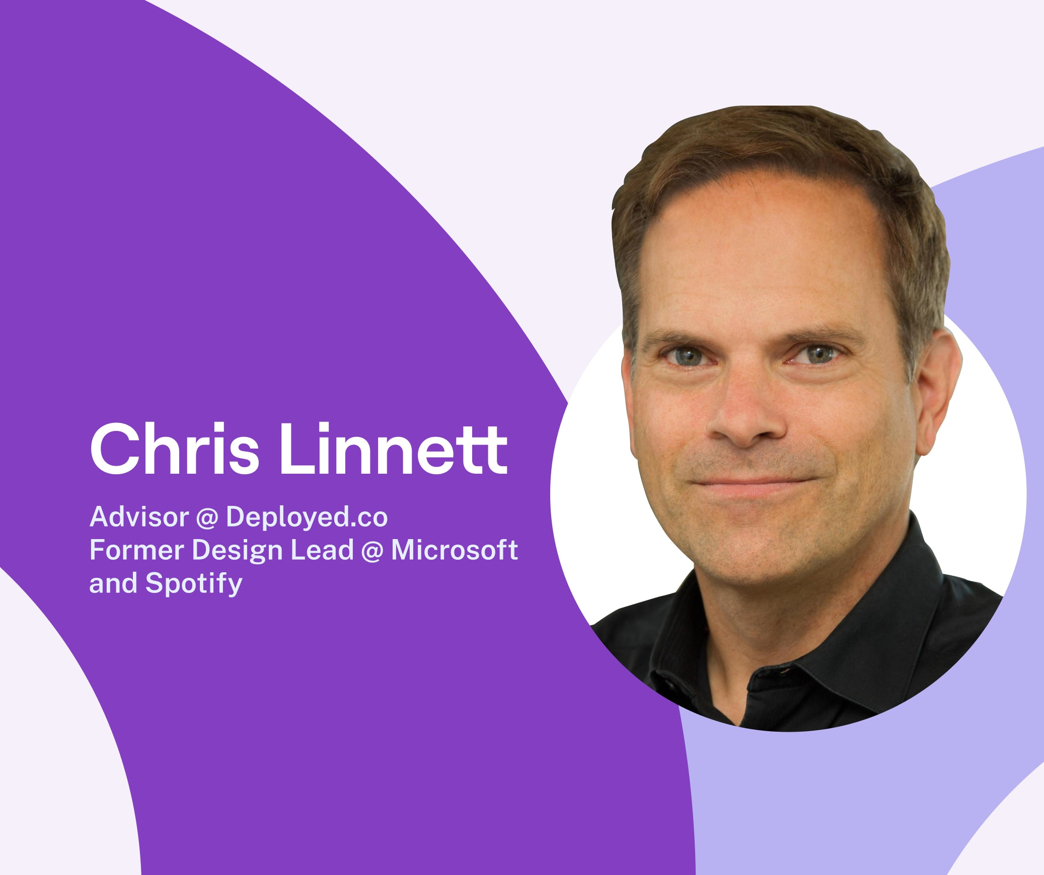 Why data should inform your design, not drive it: inside stories from former Microsoft & Spotify design lead, Chris Linnett