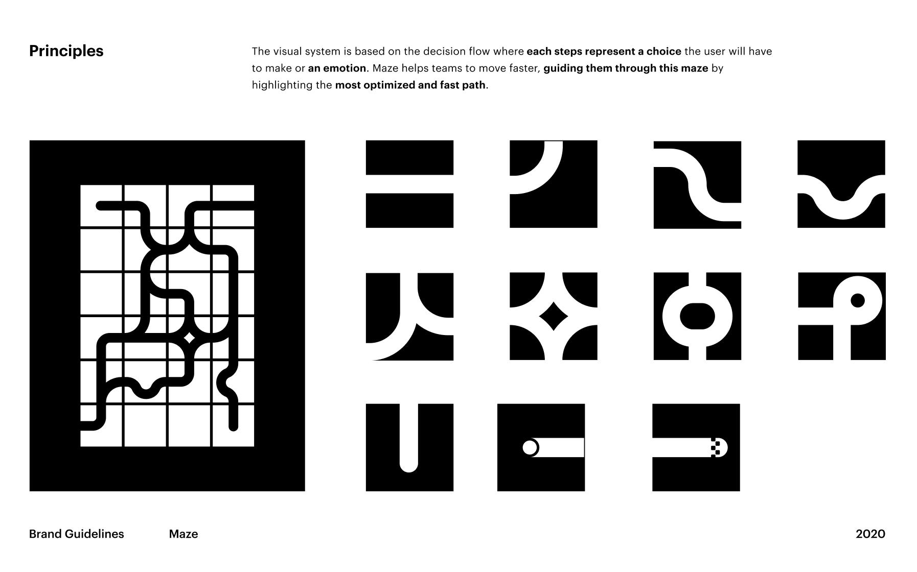Maze's new visual identity concept