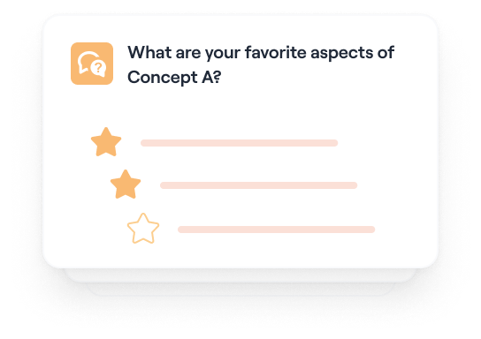 Validate product concepts