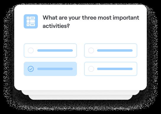 Identify customer goals