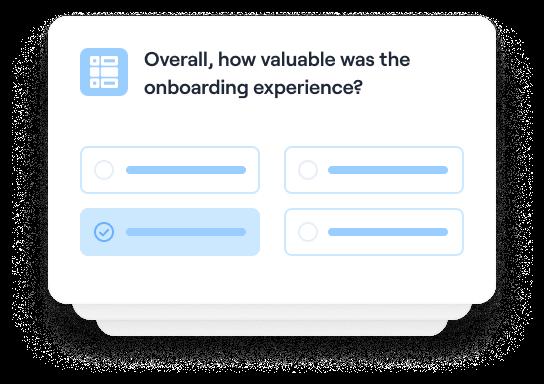 Measure onboarding success
