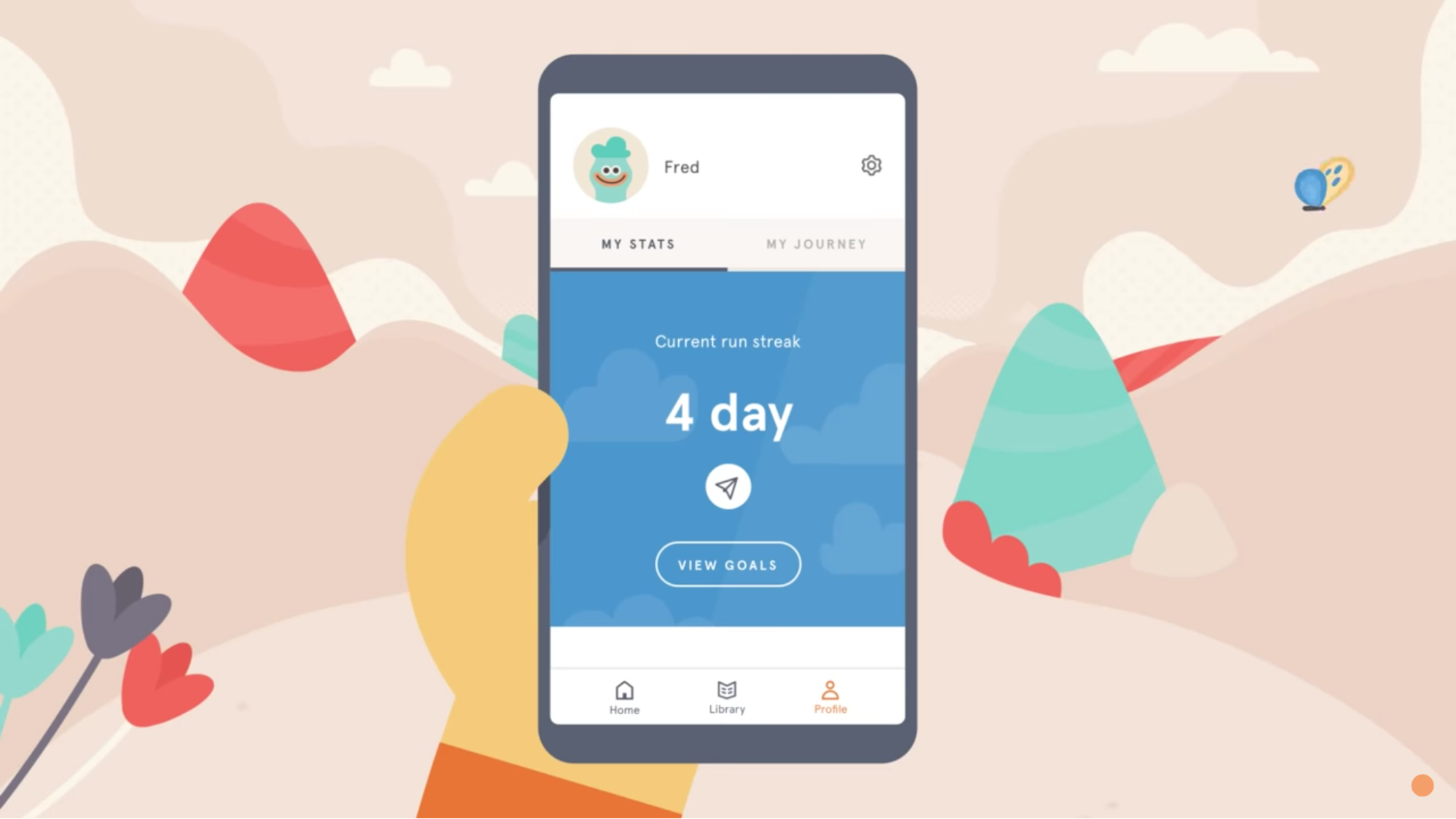 headspace ui interface stats