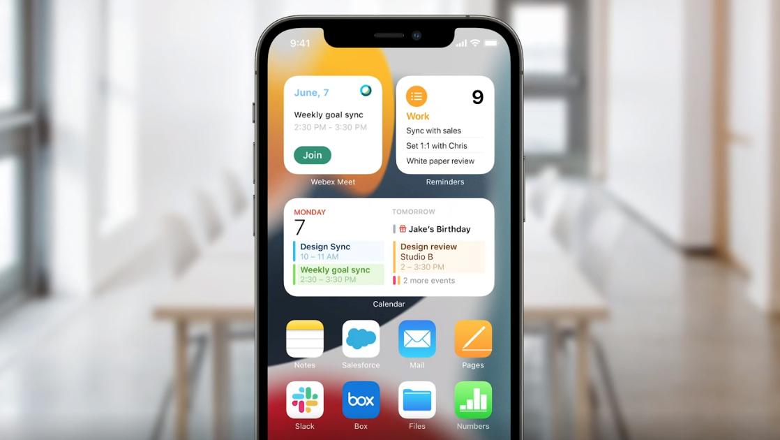 new iOS 2021 Apple