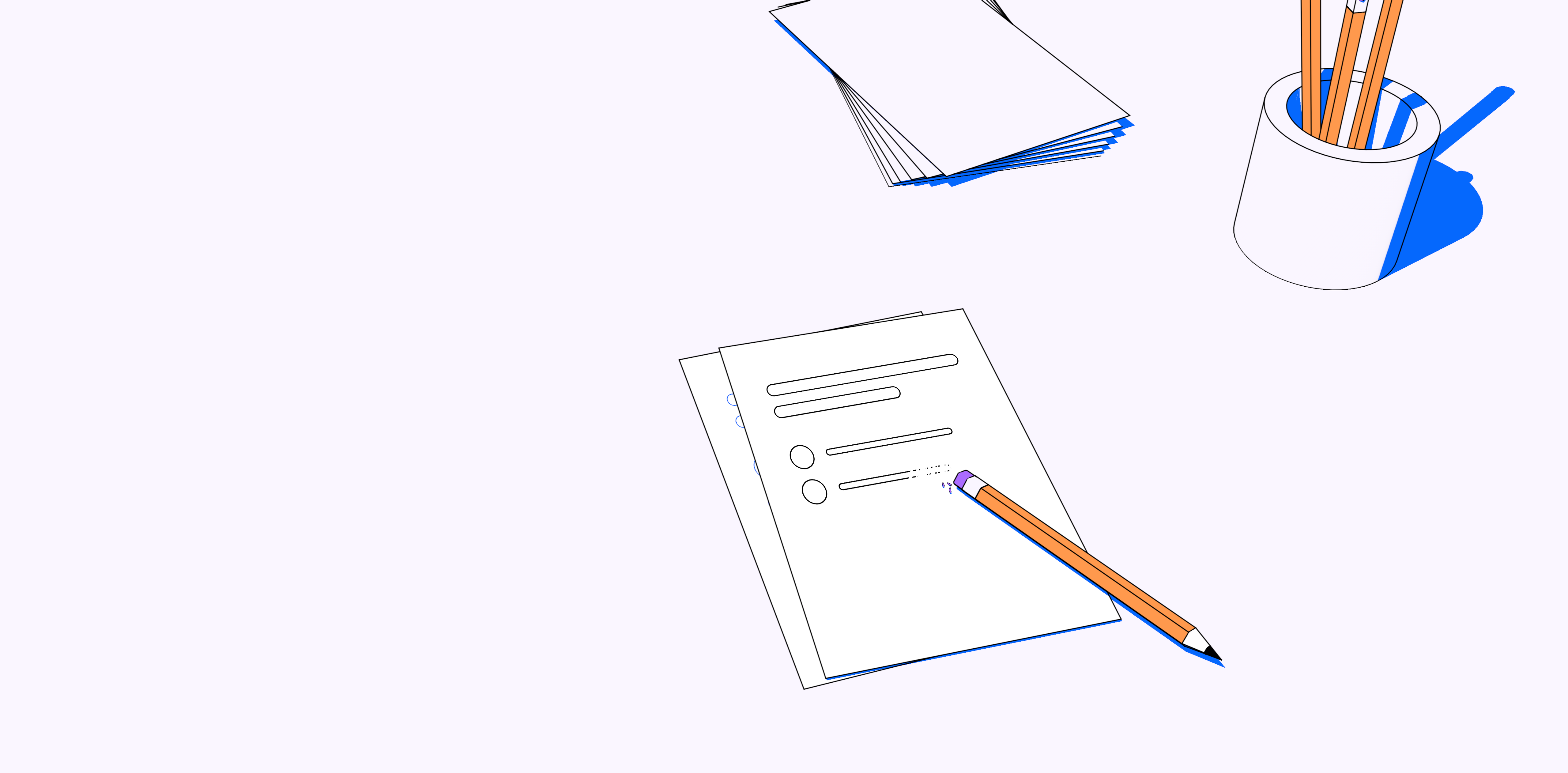 illustration representing how to create a survey