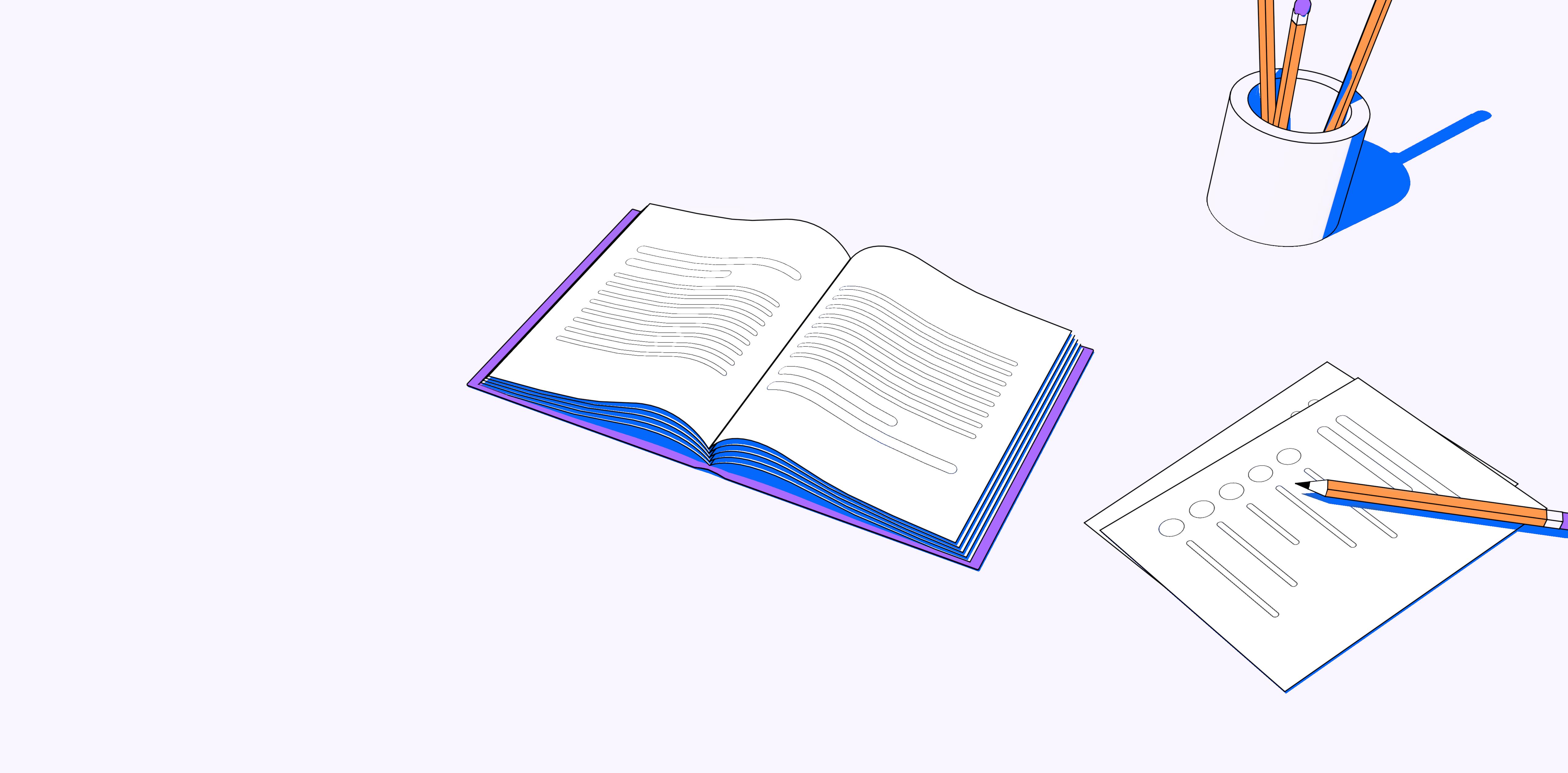Survey design principles illustration