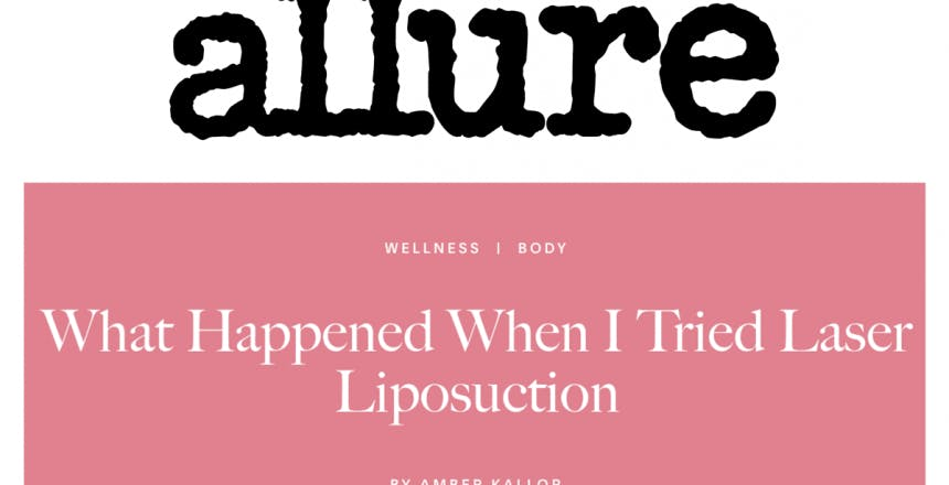 Allure: What Happened When I Tried Laser Liposuction