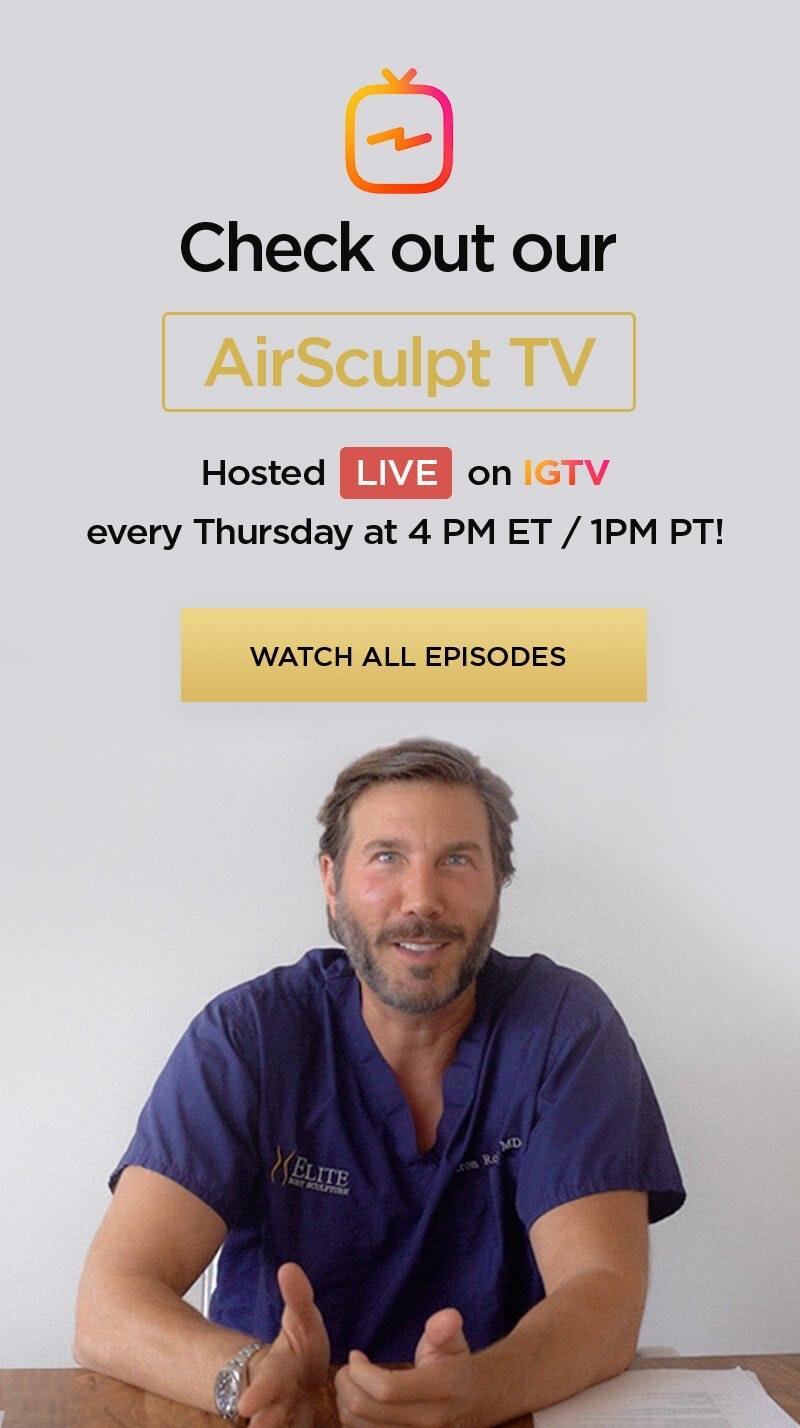 AirSculpt series banner
