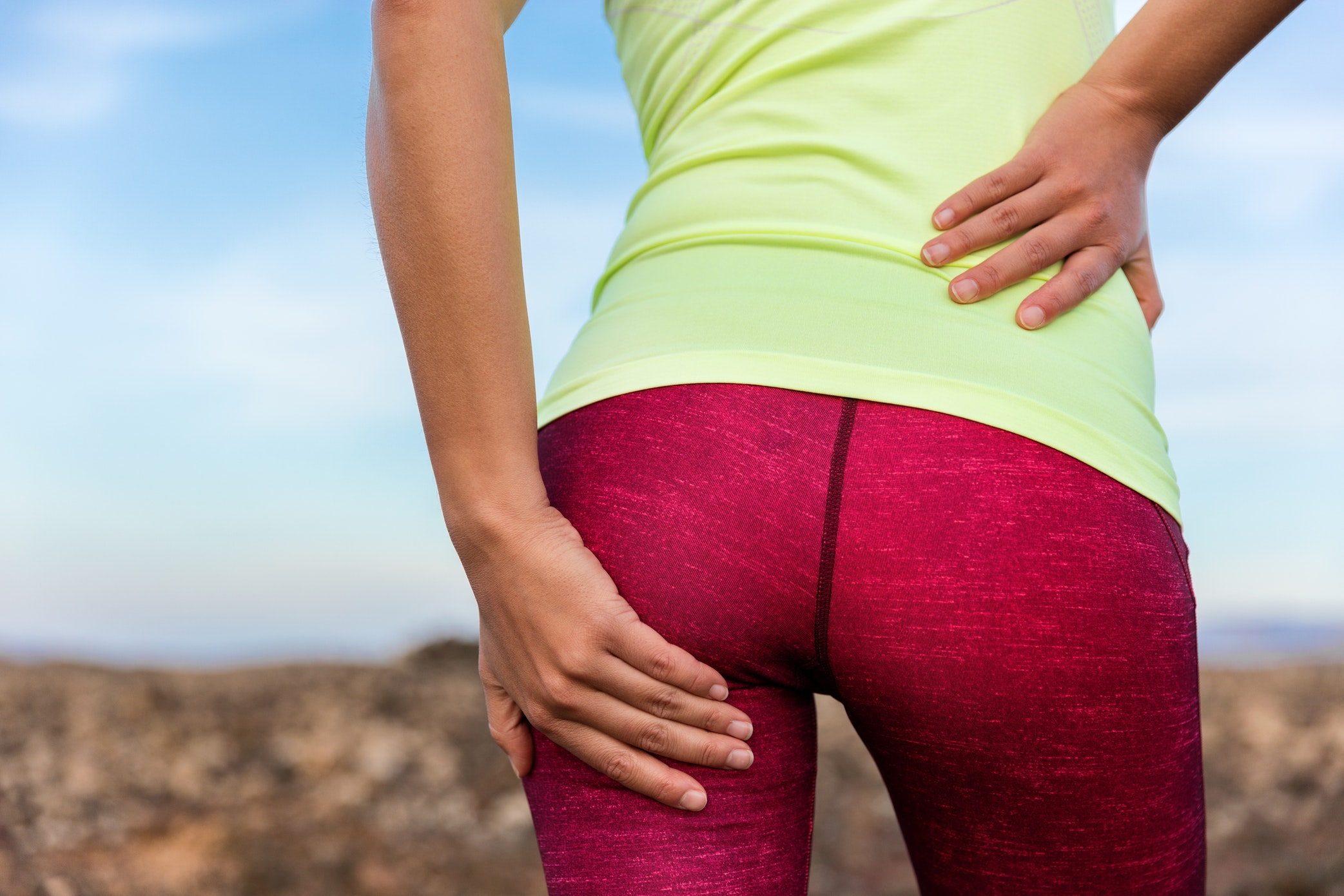 Tips for Getting Rid of a Fat Pad Above the Tailbone in Los Angeles