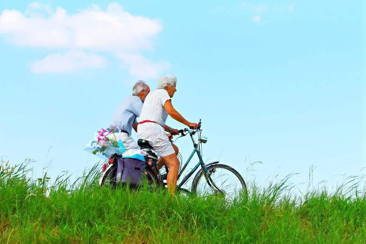 How much exercise should over 50's do?