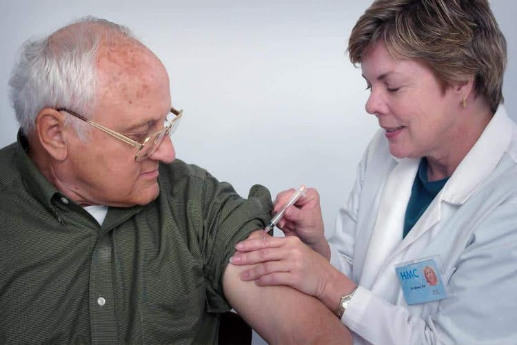 Older adults respond well to Oxford vaccine