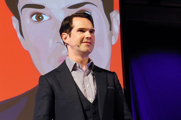 Jimmy Carr reveals his hair transplant and Jamie Oliver appalls with grapes on pizza