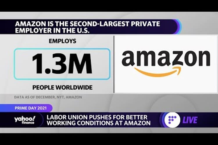 Workers bear the brunt of Amazon Prime Day, labor union rep argues